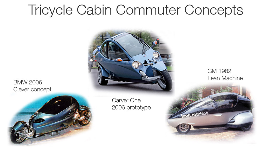 Cabin Commuters trikes