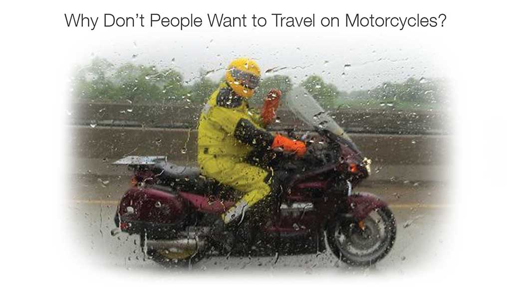 Motorcycle Rainy